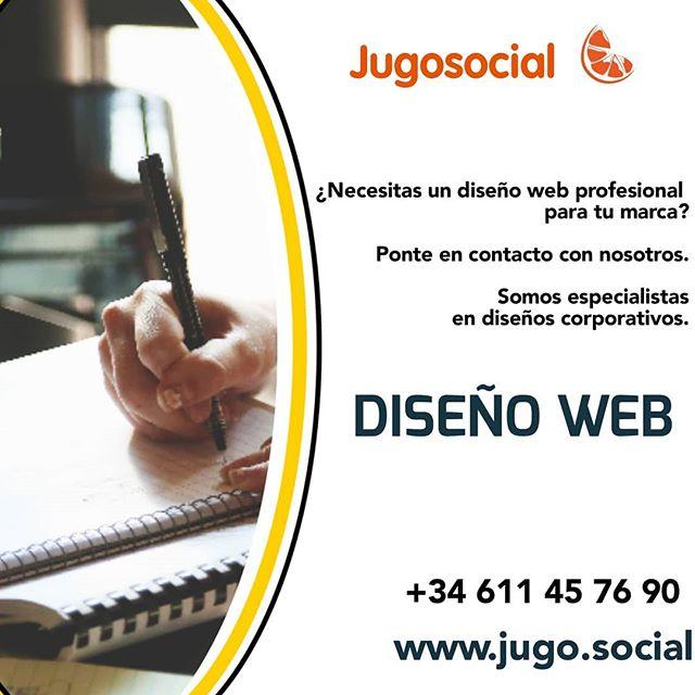 ¿Necesitas un diseño web?