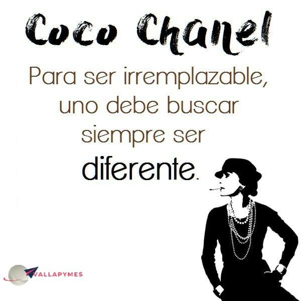 Ser diferente…
