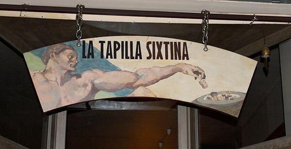 Tapilla sixtina